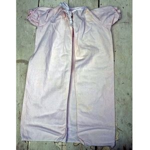 Vintage Baby Girls NightGown, Light Pink